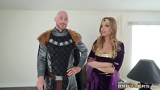 Costumed Britney Amber has amazing fucking skills added to likes problem act out