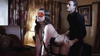 Impetuous folded wife is in for a kinky lustful surprise