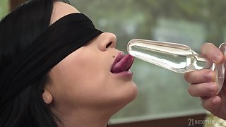 Kinky fox Julia De Lucia gets buy it during rough anal play