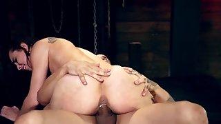 Kinky amateur bondage first time Best pals Aidra Fox and