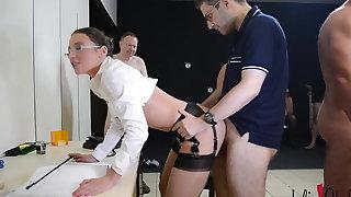 Slutty secretary
